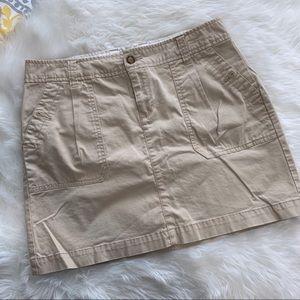 Old Navy Khaki A Line Skirt